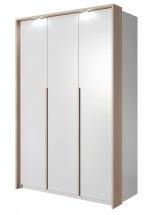 Xelo - Skříň 140,8x215,5x65 cm bílá