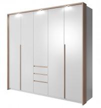 Xelo - Skříň 229,4x215,5x65 cm bílá