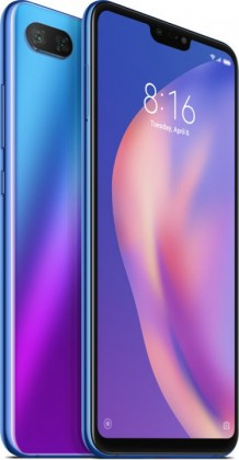 Xiaomi Mi 8 Lite, 4GB/64GB, Global, Aurora Blue