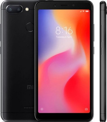 Xiaomi Redmi 6 Dual Black 3GB/32GB Global Version