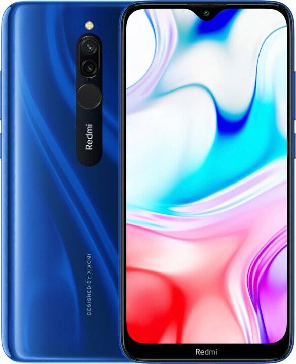 Xiaomi Redmi Mobilní telefon Xiaomi Redmi 8 3GB/32GB, modrá