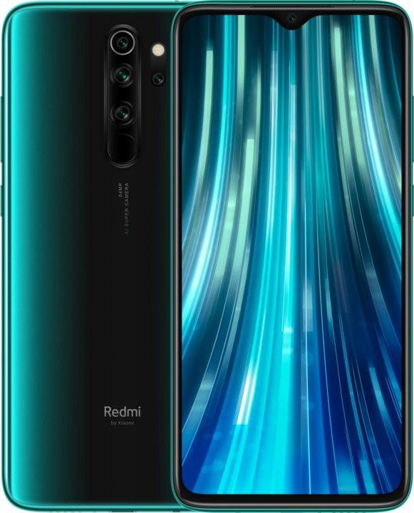 Xiaomi Redmi Note Mobilní telefon Xiaomi Redmi Note 8 Pro 6GB/64GB, zelená