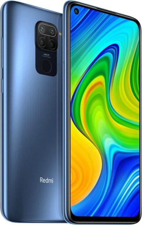 Xiaomi Redmi Note Mobilní telefon Xiaomi Redmi Note 9 3GB/64GB, šedá