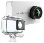 YI 4K Action Camera Kit - set kamera bílá + voděodolný kryt ROZBA