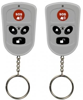 Zabezpečovací systém Bezdrátové dálkové ovládání Olympia 5906, sada 2 ks