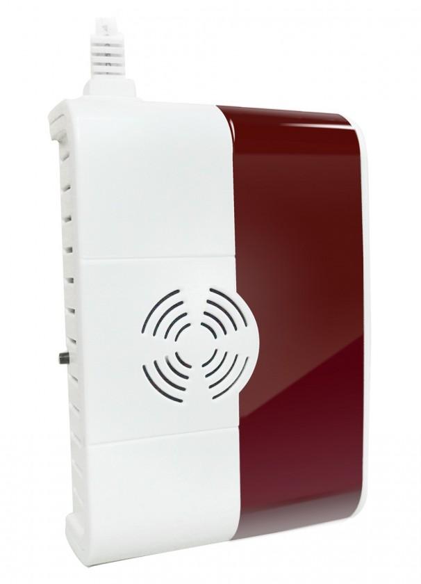 Zabezpečovací systém Bezdrátový detektor plynu iGET SECURITY P6