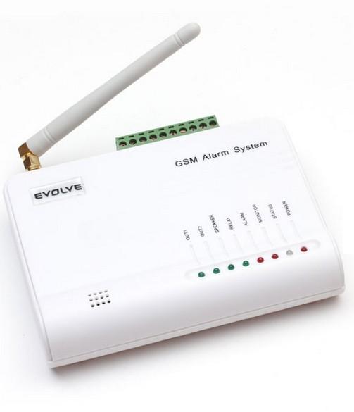 Zabezpečovací systém Bezdrátový GSM alarm Evolveo Alarmex, ochrana proti sabotáži