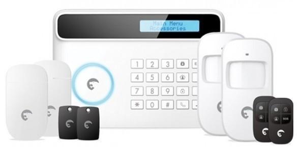 Zabezpečovací systém eTiger S4 Combo SECUAL Sim Bezdrátový bezpečnostní systém s GSM