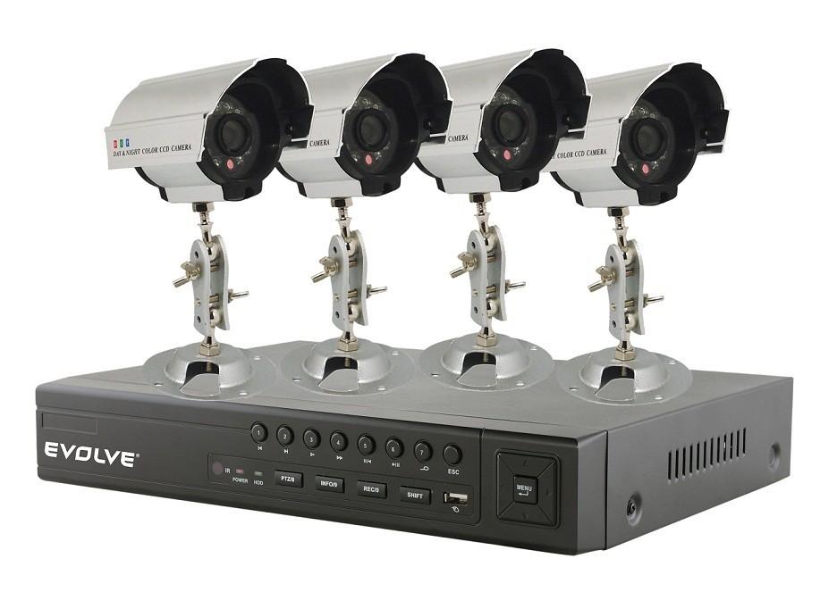 Zabezpečovací systém EVOLVEO Detective S4C, DVR bezpečnostní monitorovací systém