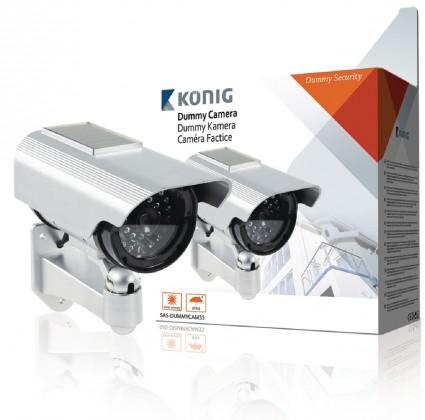 Zabezpečovací systém Kamera venkovní atrapa, solar (SAS-DUMMYCAM35)