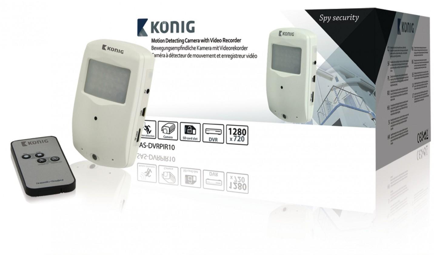 Zabezpečovací systém König SASDVRPIR10