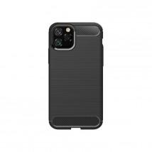 Zadní kryt pro Apple iPhone 11, karbon, černá