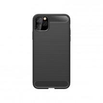 Zadní kryt pro Apple iPhone 11 Pro, karbon, černá