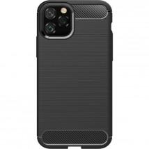 Zadní kryt pro Apple iPhone 11 Pro Max, karbon, černá