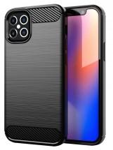 """Zadní kryt pro Apple iPhone 12, 5,4"""", Carbon, černá"""