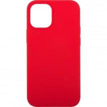 """Zadní kryt pro Apple iPhone 12, 5,4"""", Liquid, červená ROZBALENO"""