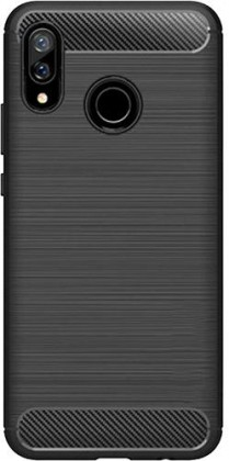 Zadní kryt pro Huawei NOVA 3, karbon, černá
