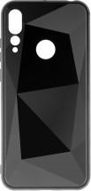 Zadní kryt pro Huawei Nova 4, 3D prismatic, černá
