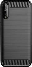 Zadní kryt pro Huawei P Smart 2020, Carbon, černá OBAL POŠKOZEN