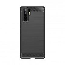 Zadní kryt pro Huawei P30 PRO, karbon, černá