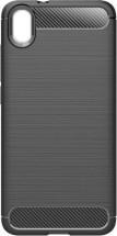 Zadní kryt pro Huawei Y5 (2019), karbon, černá