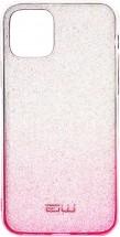 Zadní kryt pro iPhone 11 Pro, Rainbow, růžovo/stříbrná