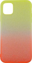Zadní kryt pro iPhone 11, Rainbow, oranžovo/žlutá