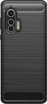 Zadní kryt pro Motorola Edge Plus, Carbon, černá