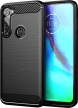 Zadní kryt pro Motorola G Pro, Carbon, černá POUŽITÉ, NEOPOTŘEBEN