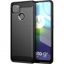 Zadní kryt pro Motorola Moto G9 Power, černá