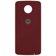Zadní kryt pro Motorola Moto Z, červený kevlar, ROZBALENO