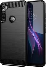 Zadní kryt pro Motorola One Fusion Plus, Carbon, černá