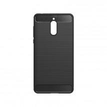 Zadní kryt pro Nokia 3.1, karbon, černá