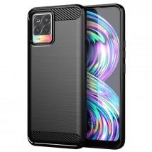 Zadní kryt pro Realme 8 4G/8 Pro 4G, černá