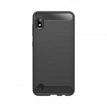 Zadní kryt pro Samsung A10, Carbon, černá