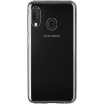 Zadní kryt pro Samsung A20e, Slim, průhledná OBAL POŠKOZEN