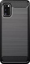 Zadní kryt pro Samsung Galaxy A41, Carbon, černá