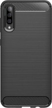 Zadní kryt pro Samsung Galaxy A50, karbon, černá