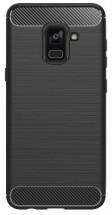 Zadní kryt pro Samsung Galaxy A6 2018, karbon, černá