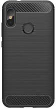 Zadní kryt pro Xiaomi Mi A2 LITE, karbon, černá