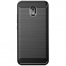 Zadní kryt pro Xiaomi Redmi 8A, Carbon, černá