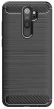 Zadní kryt pro Xiaomi Redmi 9, Carbon, černá