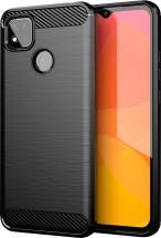 Zadní kryt pro Xiaomi Redmi 9c, Carbon, černá