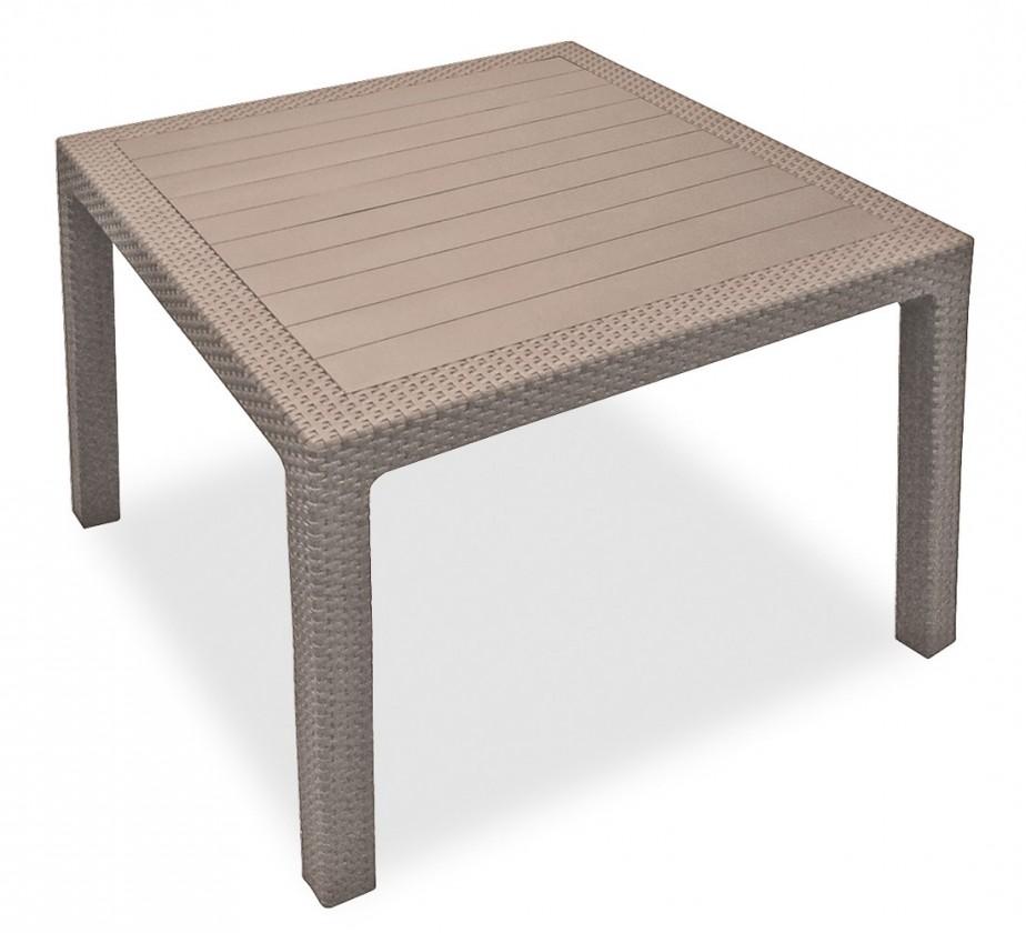 Zahradní stůl Melody - Stůl, 95 cm (cappuccino)