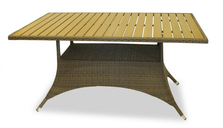 Zahradní stůl Rimini - Jídelní stůl (hnědá)