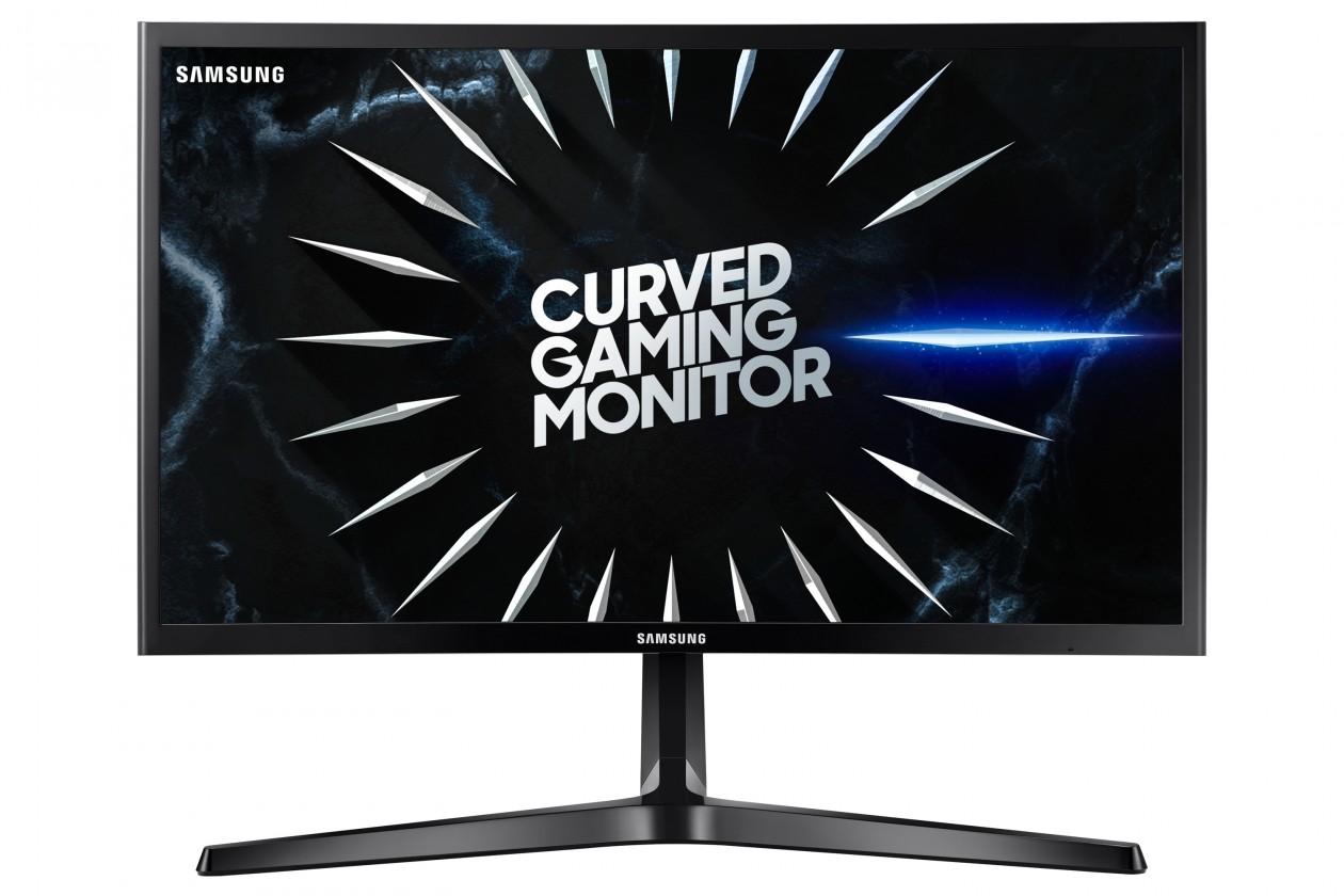Základní monitor Monitor Samsung C24RG50, 24'', zakřivený, FullHD, 144 Hz, černá