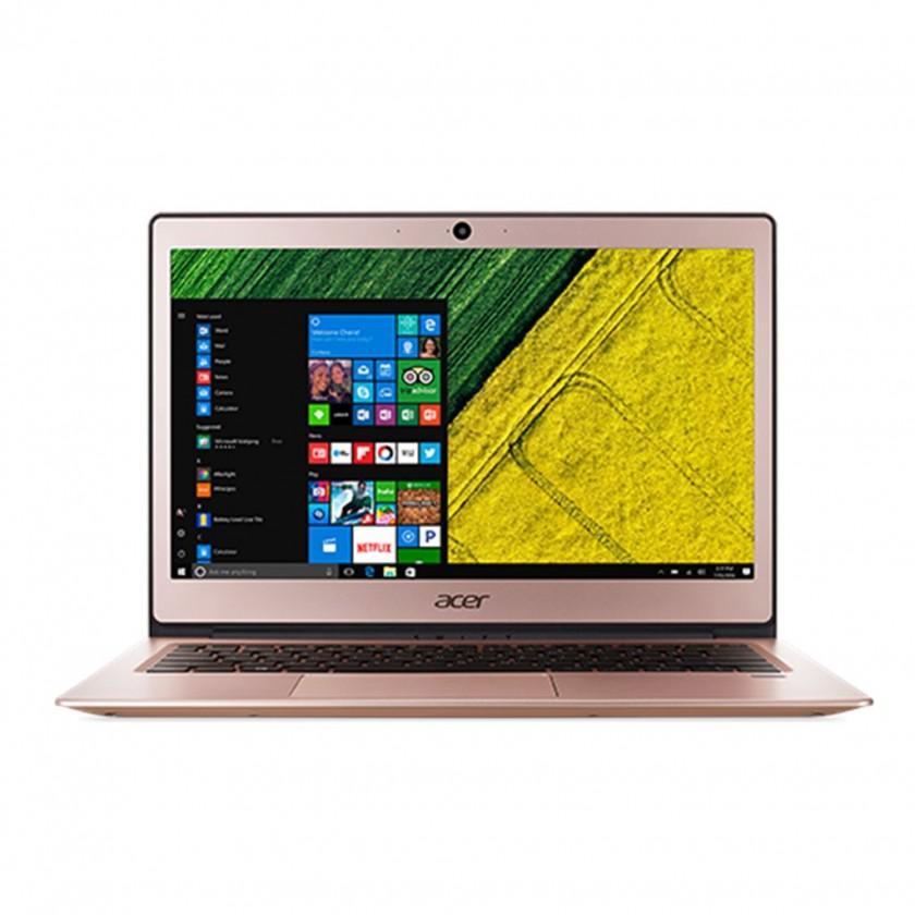Základní notebook Acer Swift 1 celokovový (SF113-31-P1SQ), růžová NX.GPREC.001