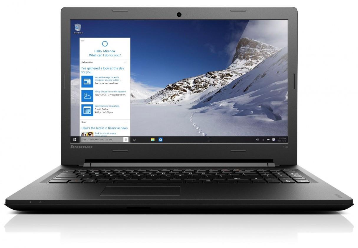 Základní notebook Lenovo IdeaPad 100 80QQ010UCK