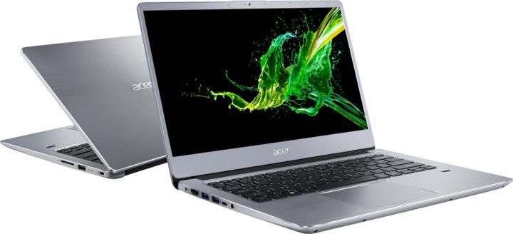 """Základní notebook Notebook Acer SF314-41 14"""" R3-3200U 4GB, SSD 128GB, NX.HFDEC.003"""