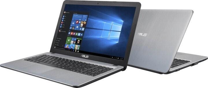 """Základní notebook Notebook Asus X540BA-DM653T 15,6"""" A6-9225 8GB, 1T+128GB, Silver"""